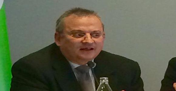 Javier Pérez- Roldán en un momento de su intervención.
